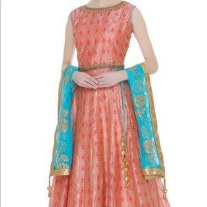 Other - Anarkali chanderi silk